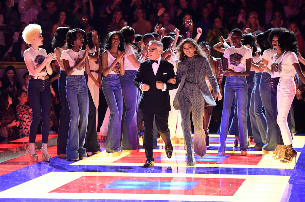 Tommy and Zendaya TommyNow Paris[1]