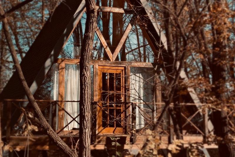 Porumbacu Treehouse A-frame